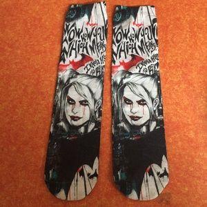 Harley Quinn skate socks 🧦